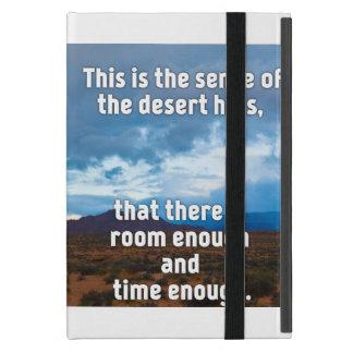 Capa iPad Mini Colinas do deserto