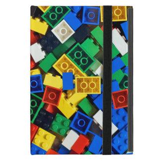 Capa iPad Mini Construção dos tijolos da construção dos blocos de