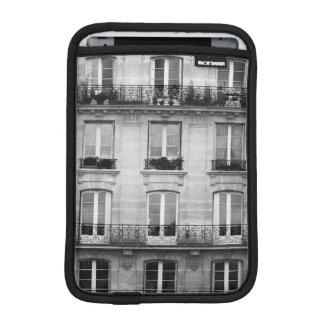 Capa iPad Mini Construção preto e branco do vintage do viagem  