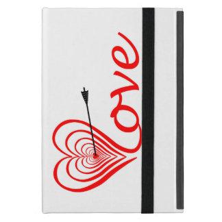 Capa iPad Mini Coração amor alvo com seta