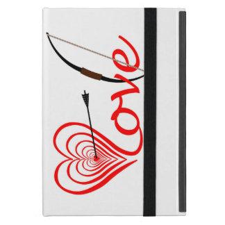 Capa iPad Mini Coração amor alvo com seta e arco