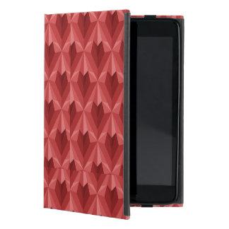 Capa iPad Mini Coração do polígono