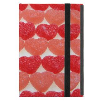Capa iPad Mini Corações dos doces em seguido
