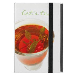 Capa iPad Mini deixe-nos chá