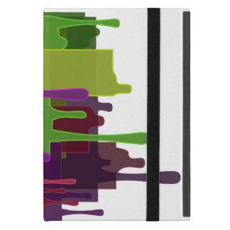 Capa iPad Mini Derretimento dos blocos da cor