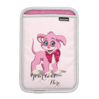 Capa iPad Mini Desenhos animados do filhote de cachorro do rosa
