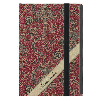 Capa iPad Mini Design abstrato da flor do vintage