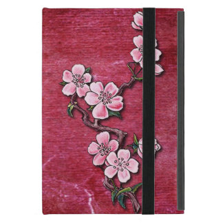 Capa iPad Mini Design floral do tatuagem da flor de cerejeira
