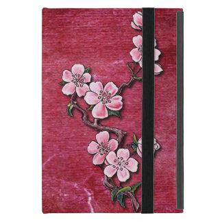 Capa iPad Mini Design floral do tatuagem da flor de cerejeira