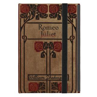 Capa iPad Mini Design Romeo e Juliet do livro do vintage