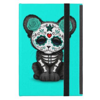 Capa iPad Mini Dia azul da pantera preta inoperante Cub