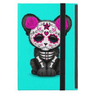 Capa iPad Mini Dia cor-de-rosa da pantera preta inoperante Cub