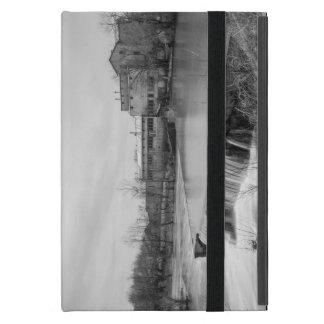 Capa iPad Mini Dia de primavera no Grayscale do moinho de Ozark