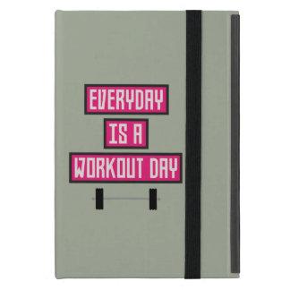 Capa iPad Mini Dia diário Z52c3 do exercício