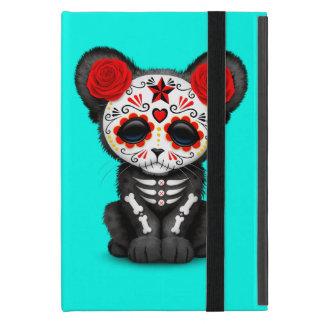 Capa iPad Mini Dia vermelho da pantera preta inoperante Cub