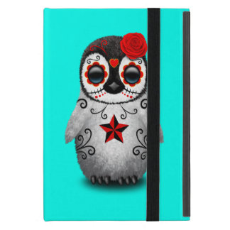 Capa iPad Mini Dia vermelho do pinguim inoperante do bebê
