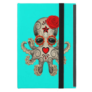 Capa iPad Mini Dia vermelho do polvo inoperante do bebê
