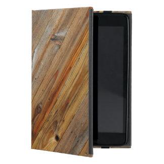 Capa iPad Mini Diagonal de madeira da prancha