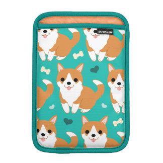 Capa iPad Mini Do cão bonito do Corgi de Kawaii teste padrão