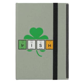Capa iPad Mini Elemento químico Zz37b do cloverleaf irlandês