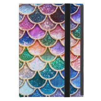 Capa iPad Mini Escalas summerly multicoloridos da sereia do