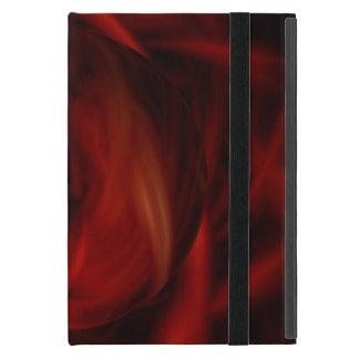 Capa iPad Mini Esfera do fogo vermelho