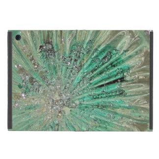 Capa iPad Mini Estilhaços Glacial de vidro do gelo da arte de