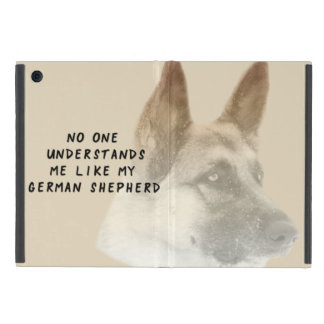 Capa iPad Mini Eu amo meu german shepherd