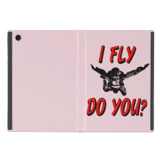 Capa iPad Mini Eu vôo, faz você? (preto)