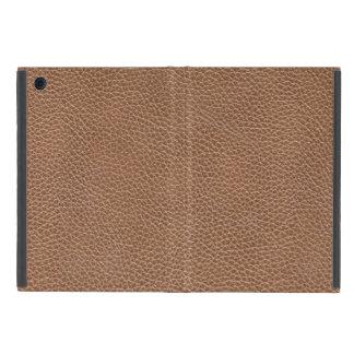 Capa iPad Mini Falso Brown natural de couro