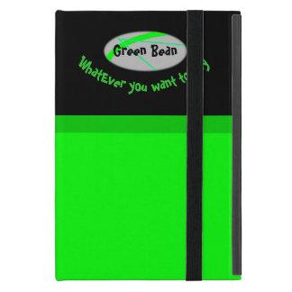 Capa iPad Mini Feijão verde