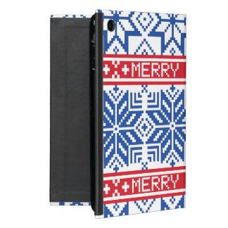 Capa iPad Mini Feliz Natal escandinavo