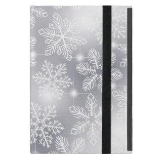 Capa iPad Mini Flocos de neve e luzes