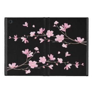 Capa iPad Mini Flor de cerejeira - preto