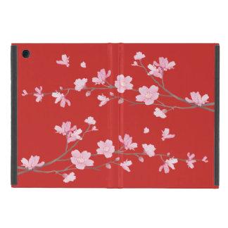 Capa iPad Mini Flor de cerejeira - vermelho