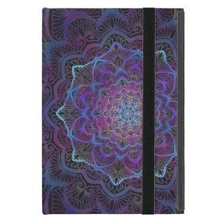 Capa iPad Mini Flor de Chakra, boho, idade nova, espiritual
