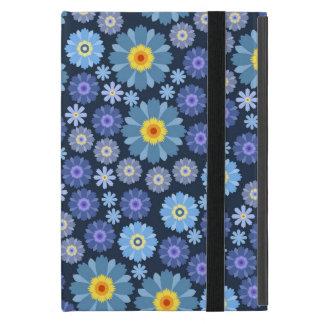 Capa iPad Mini Flor no azul