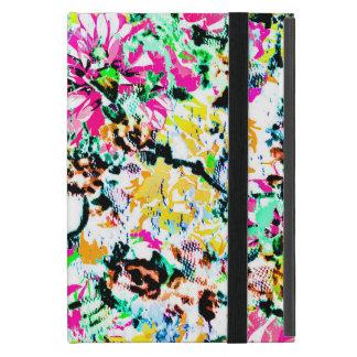 Capa iPad Mini Floral abstrato colorido bonito