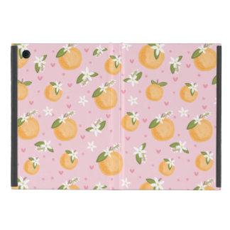 Capa iPad Mini Flores alaranjadas