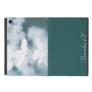 Capa iPad Mini Flores brancas bonitas