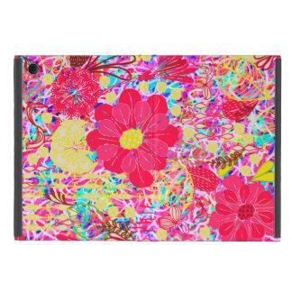 Capa iPad Mini Flores brilhantes coloridas bonitos