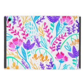 Capa iPad Mini Flores coloridas bonitos da aguarela