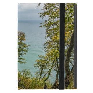 Capa iPad Mini Floresta litoral na costa de mar Báltico