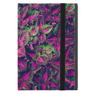 Capa iPad Mini Folha cor-de-rosa Camo