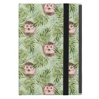 Capa iPad Mini Folhas do ouriço e do verde