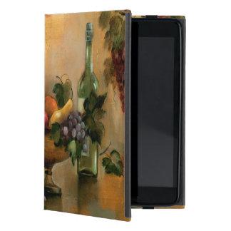 Capa iPad Mini Frutas e vinho com matiz do outono