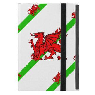 Capa iPad Mini Galês listra a bandeira