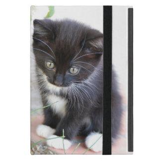 Capa iPad Mini Gatinho preto e branco