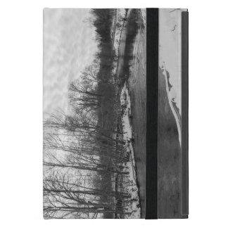 Capa iPad Mini Grayscale de James River da beleza da neve