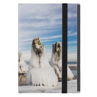 Capa iPad Mini Groynes na costa de mar Báltico
